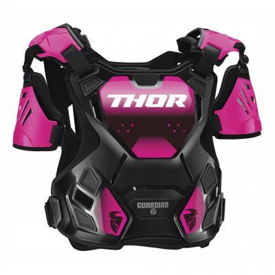 Pare-pierre femme Thor Guardian Deflector noir/rose