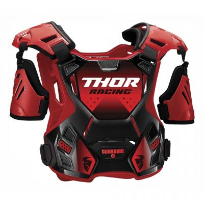 Pare-pierre Thor Guardian Deflector noir/rouge