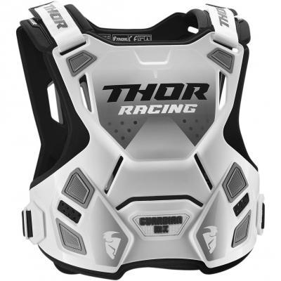 Pare-pierre Thor Guardian MX blanc/noir