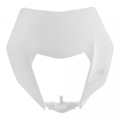 Pastique plaque phare Acerbis KTM 250 EXC 14-16 blanc