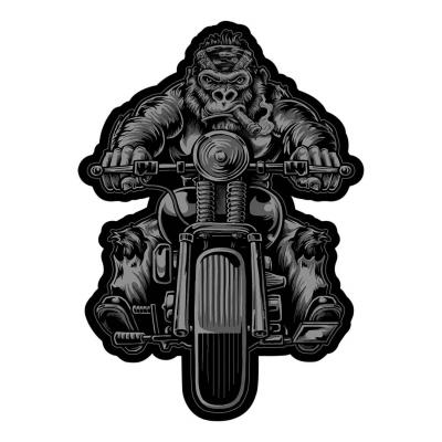 Patch Lethal Threat Motard gorille