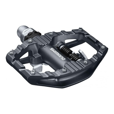 Pédales mixtes Shimano PD-EH500 noir/argent