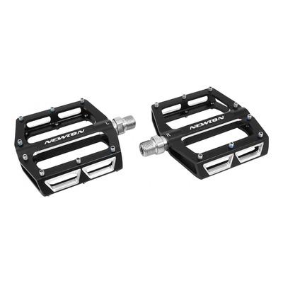 Pédales plates Newton 18x98mm aluminium 9/16'' noir