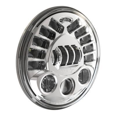 Phare JW Speaker modèle 8790 adaptatif Ø18 cm Headlights 1600 lumens encastré avec platine chrome