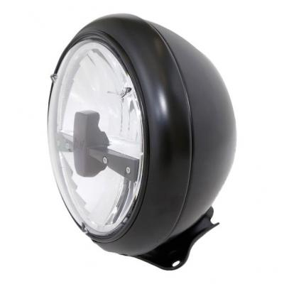 Phare LED Highsider HD-Style type 3 fixation inférieure noir