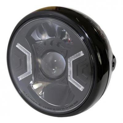 Phare LED Highsider Reno type 2 fixations latérales noir