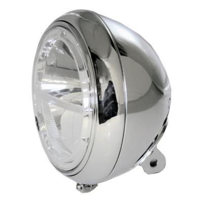 Phare LED Highsider Voyage fixation inférieure chromé