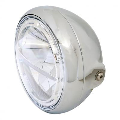 Phare LED Highsider Voyage fixations latérales chromé