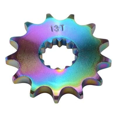 Pignon de sortie de boîte Doppler néochrome 428 13 dents moteur AM6