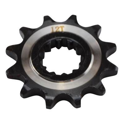Pignon de sortie de boîte Doppler noir 420 12 dents moteur AM6