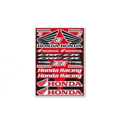 Planche autocollant Blackbird Honda CR/CRF