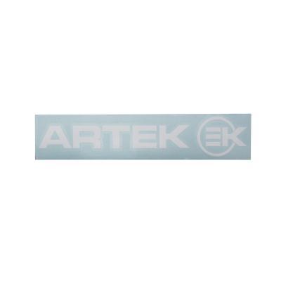 Planche d'autocollants Artek 21,5x4,5cm blanc