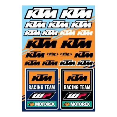 Planche d'autocollants Factory Effex KTM Racing