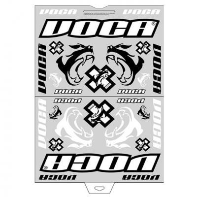 Planche d'autocollants Voca Race-Squad
