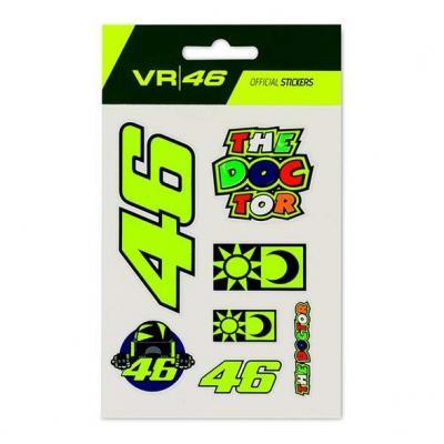 Planche de stickers VR46 petit modèle
