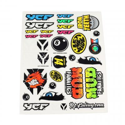 Planche de stickers YCF