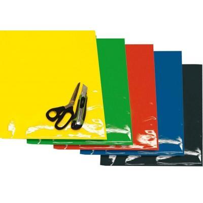Planches adhésives Blackbird Crystall jaunes fluo
