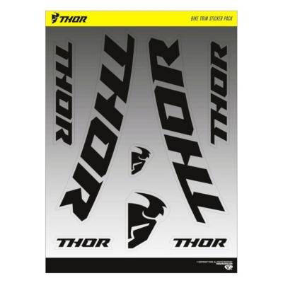 Planches autocollants Thor Bike 33x24cm (x2)