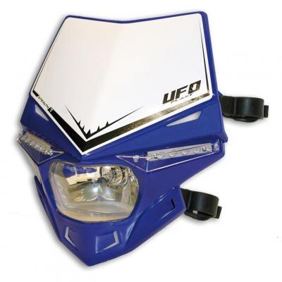 Plaque de phare UFO Stealth bleu reflex