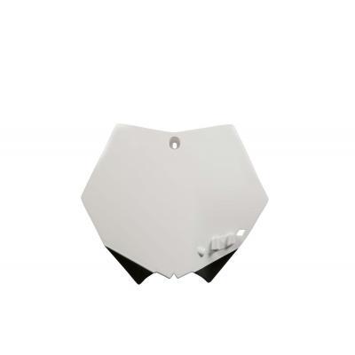 Plaque numéro frontale Acerbis KTM 125 SX 07-12 blanc