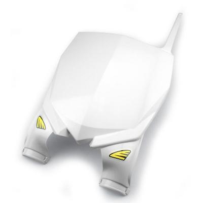 Plaque numéro frontale Cycra Stadium Yamaha blanc