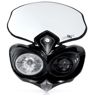 Plaque phare Acerbis Cyclope noir