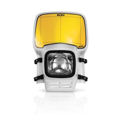 Plaque phare Acerbis Elba blanc