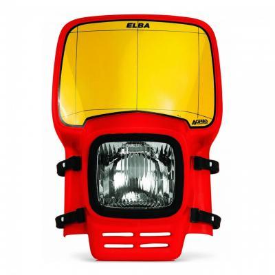 Plaque phare Acerbis Elba rouge