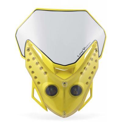 Plaque phare Acerbis Led Vision jaune