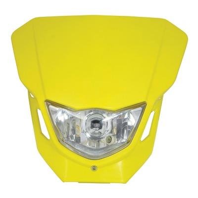 Plaque phare Bike Tek jaune
