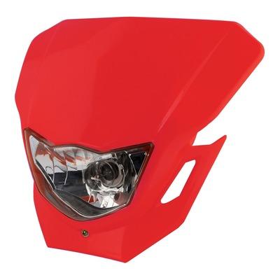 Plaque phare Bike Tek rouge