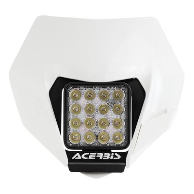 Plaque phare Led Acerbis VSL blanc (optique adaptable)