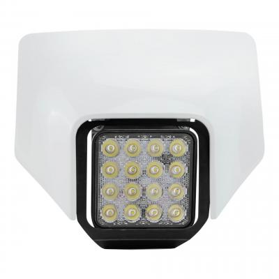Plaque phare Led Acerbis VSL Husqvarna 250I TE 18-19 blanc