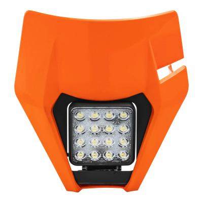 Plaque phare Led Acerbis VSL KTM 450 EXC-F 17-19 (orange16)