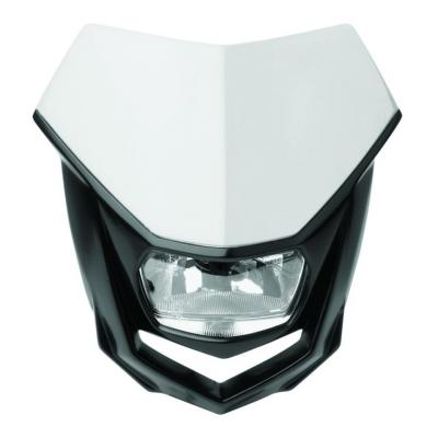 Plaque phare Polisport Halo blanc/noir