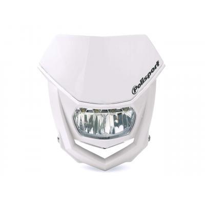 Plaque phare Polisport Halo LED blanc