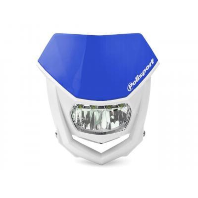 Plaque phare Polisport Halo LED bleu/blanc