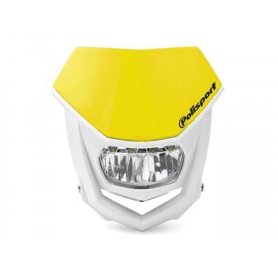 Plaque phare Polisport Halo LED jaune/blanc