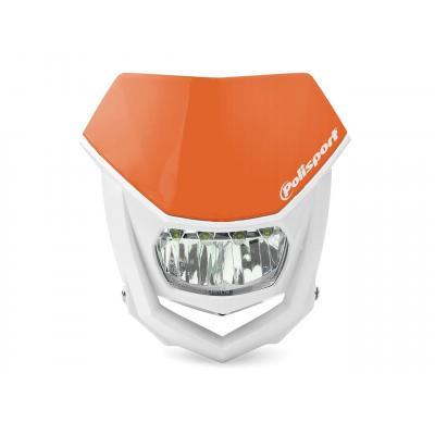 Plaque phare Polisport Halo LED orange/blanc