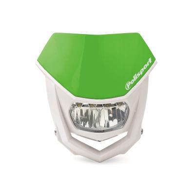 Plaque phare Polisport Halo LED vert/blanc