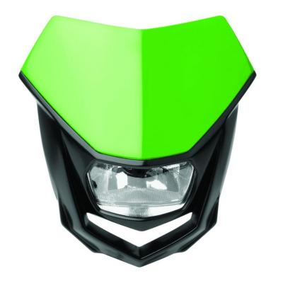 Plaque phare Polisport Halo vert/noir