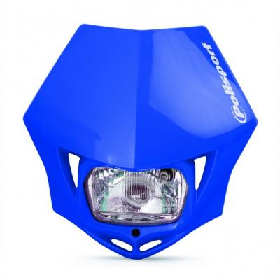 Plaque phare Polisport MMX Bleue Yamaha