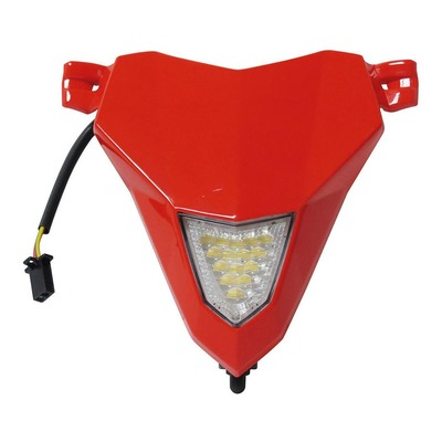 Plaque phare rouge pour trial Gas Gas Txt Pro Racing 19-20 BT90500CT-CSV-1