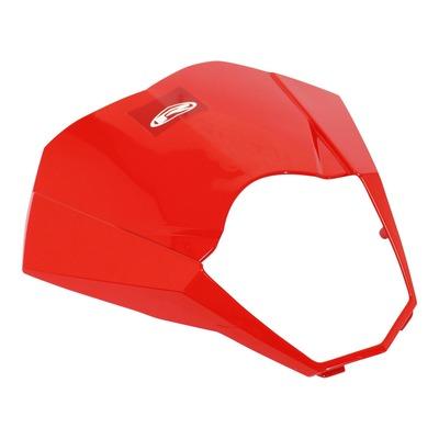 Plaque phare tête de fourche rouge 0-000.620.5306 pour Rieju 50 MRT 09-