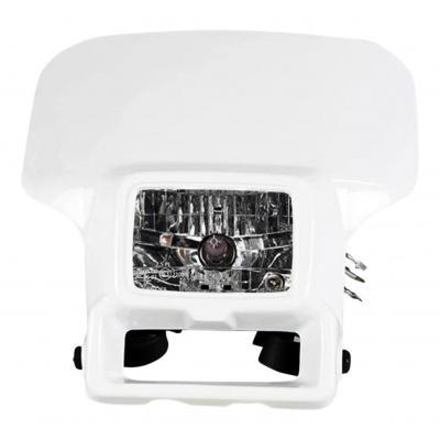 Plaque phare UFO Halogène Honda XR 250R 96-04 blanc