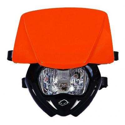 Plaque phare UFO Panther noir/orange