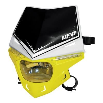 Plaque phare UFO Stealth Dual jaune