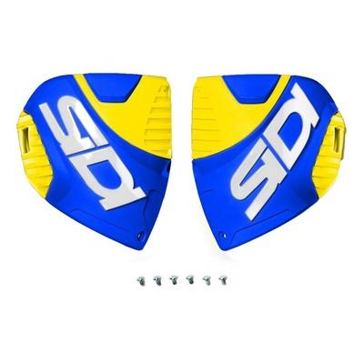 Plaque tibiale Sidi Crossfire 3 bleu/jaune fluo