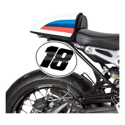 Plaques latérales Barracuda aluminium BMW R Nine T 1200 Racer 17-20