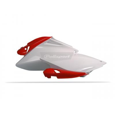 Plaques latérales Polisport Honda CRF 250R 06-09 (rouge/blanc origine)